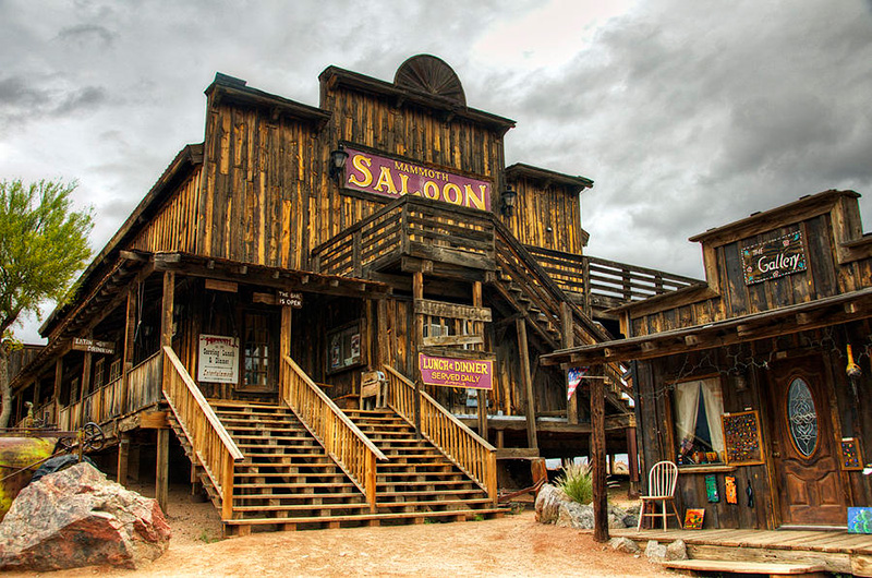 Goldfield Ghost Town Saloon